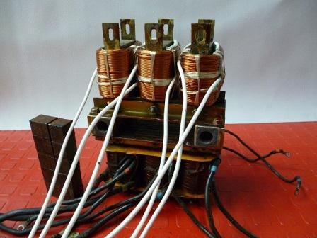 Bobina Auto regulable de una planta electrica