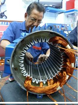 Motor Trifásico de 25 HP