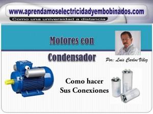 Motores con condensador