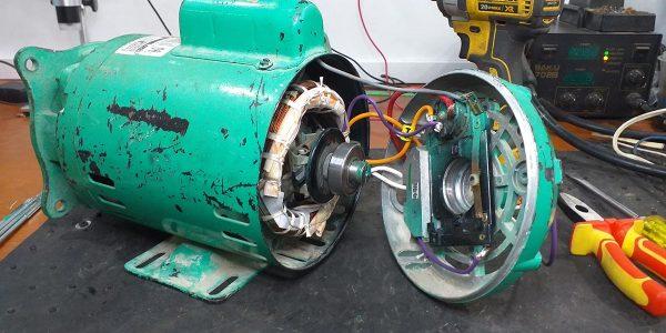 Cambio conexiones electrobomba monofásica